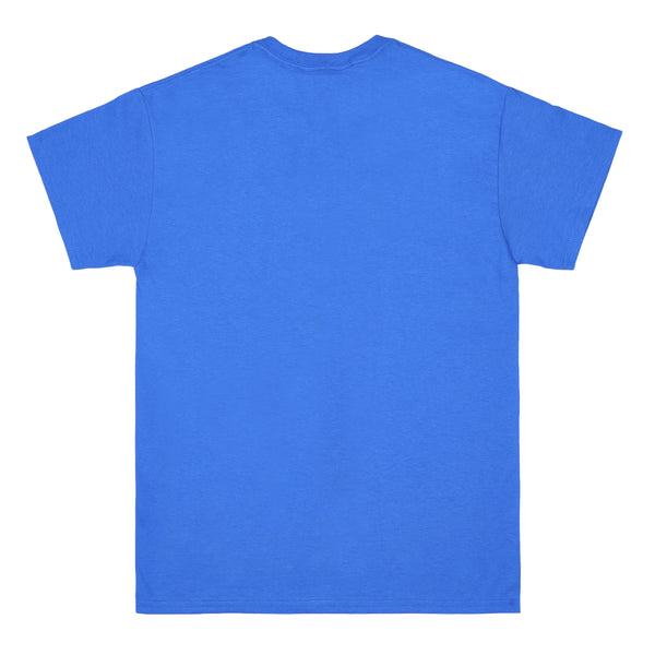 RAINBOW royal blue tee - rave skateboards