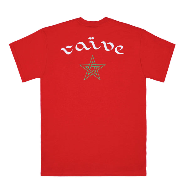 RAÏVE red tee - rave skateboards