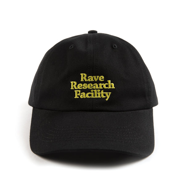 RAVE RESEARCH FACILITY black cap - RAVE skateboards