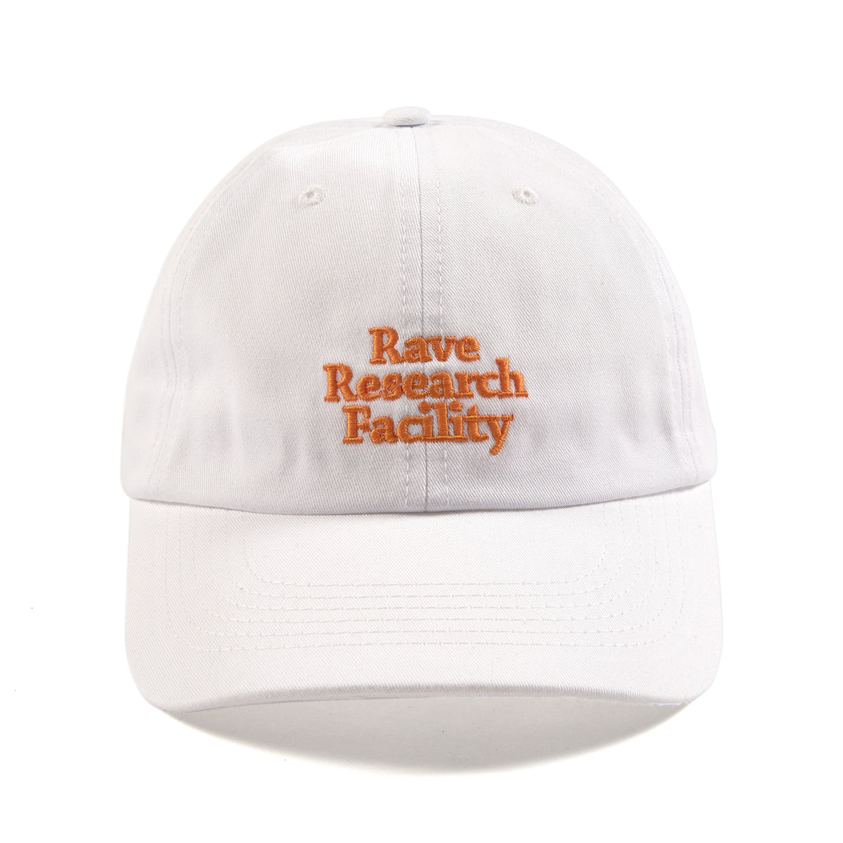 RAVE RESEARCH FACILITY white cap - RAVE skateboards