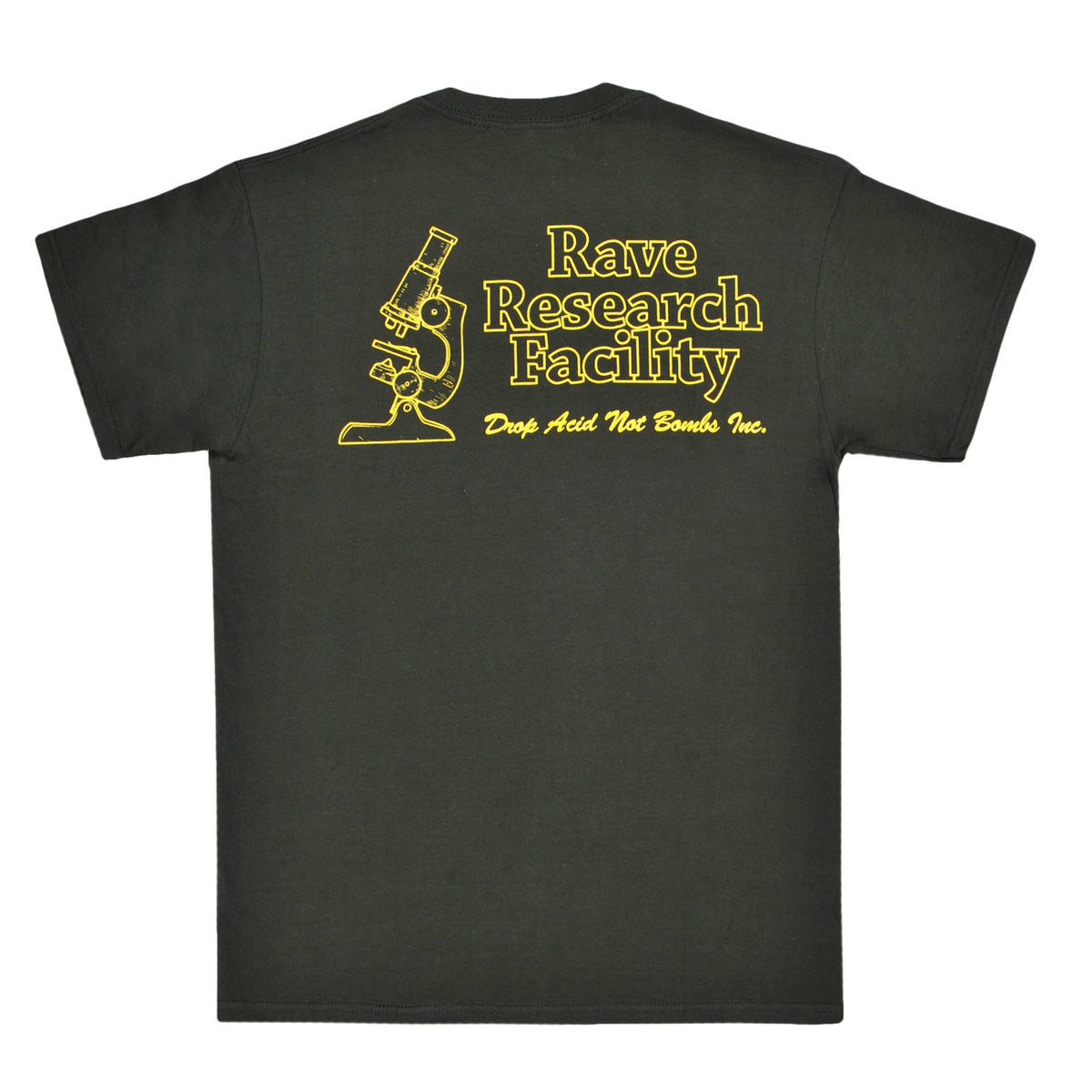 RAVE RESEARCH FACILITY forest tee - RAVE skateboards