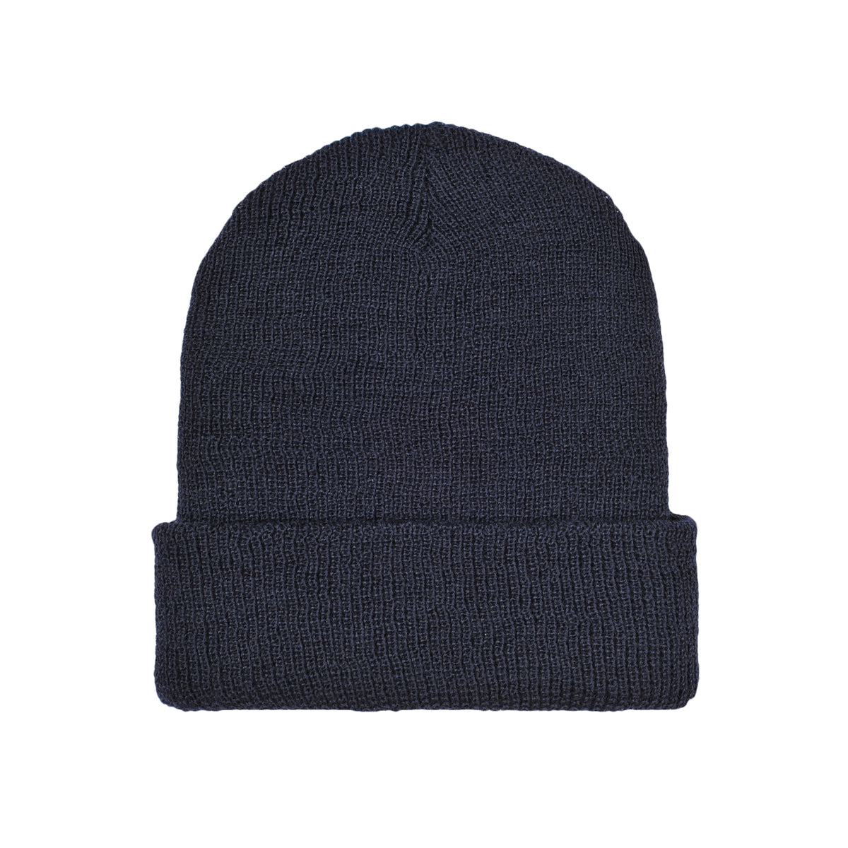 CLASSIC LOGO wool beanie navy - RAVE skateboards