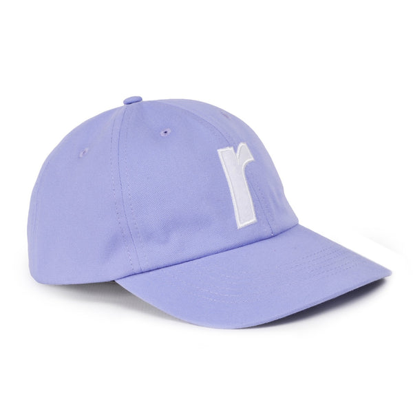 R felt logo cap light purple - RAVE skateboards