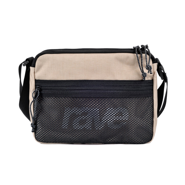 SHOULDER BAG sand black - RAVE skateboards