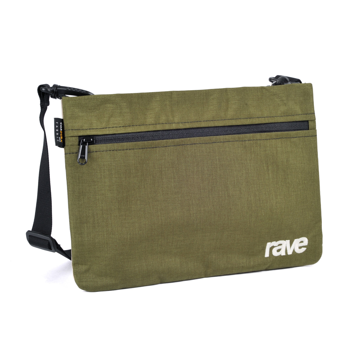 SLIM BAG olive sand - RAVE skateboards