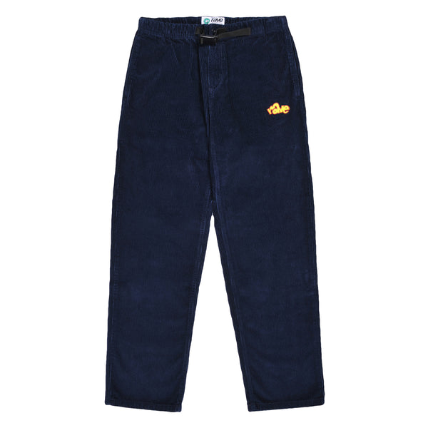 SPIKE cord climbing pant navy - RAVE skateboards
