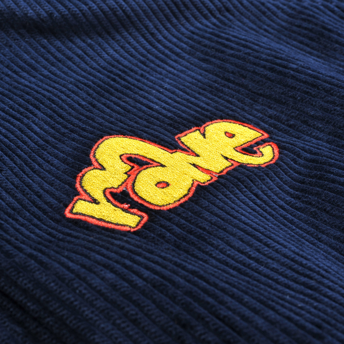 SPIKE cord reversible jacket navy - RAVE skateboards