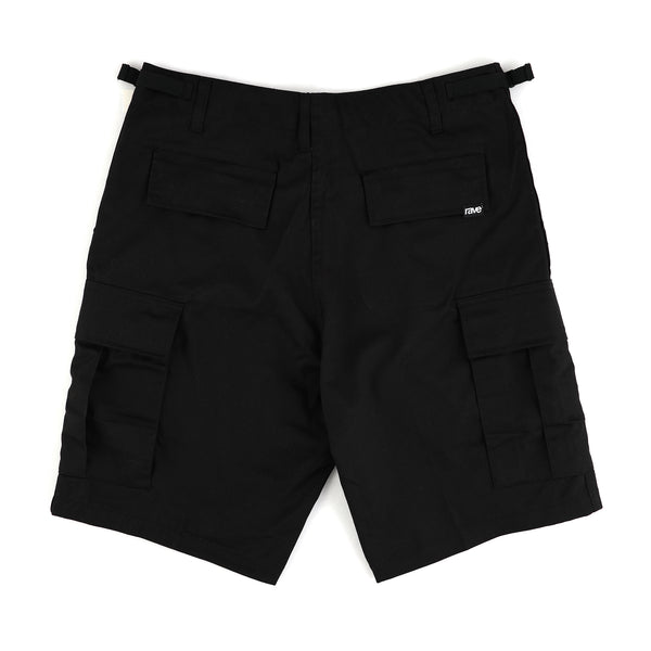 SUMMIT black cargo short - rave skateboards