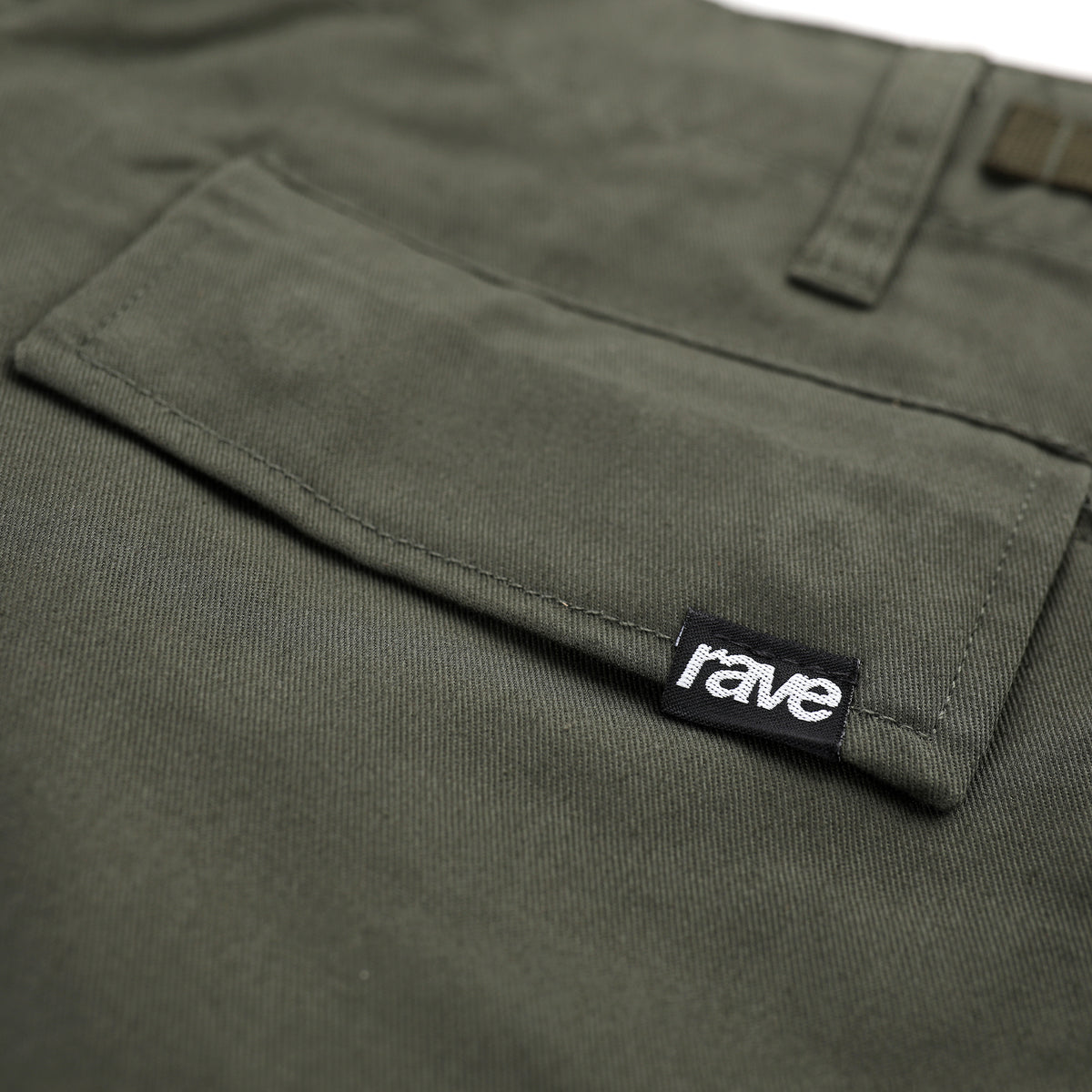 SUMMIT olive cargo short - RAVE skateboards