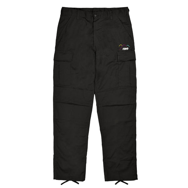 SUMMIT black cargo pant - RAVE skateboards