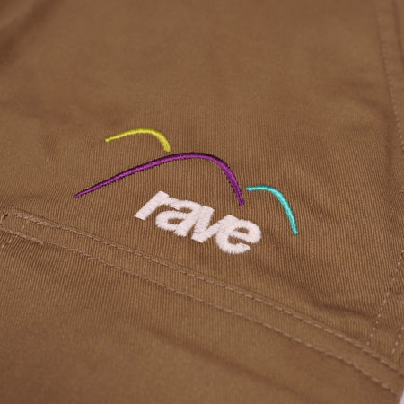 SUMMIT light brown cargo pant - rave skateboards