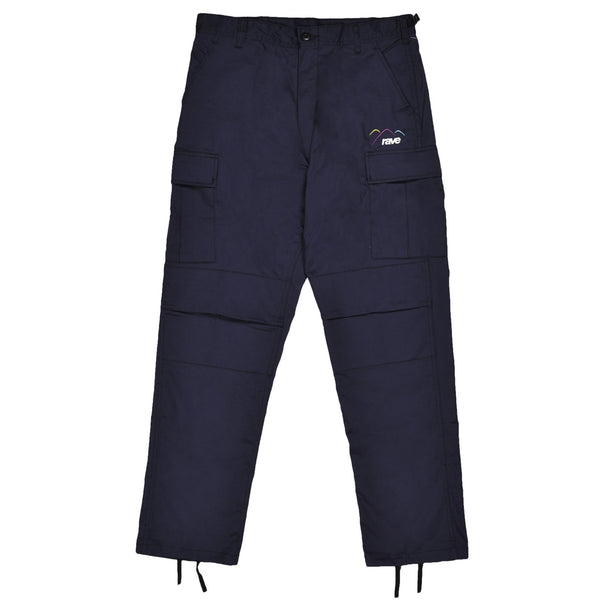 SUMMIT navy cargo pant - RAVE skateboards