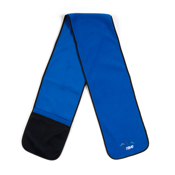 SUMMIT blue fleece scarf - RAVE skateboards