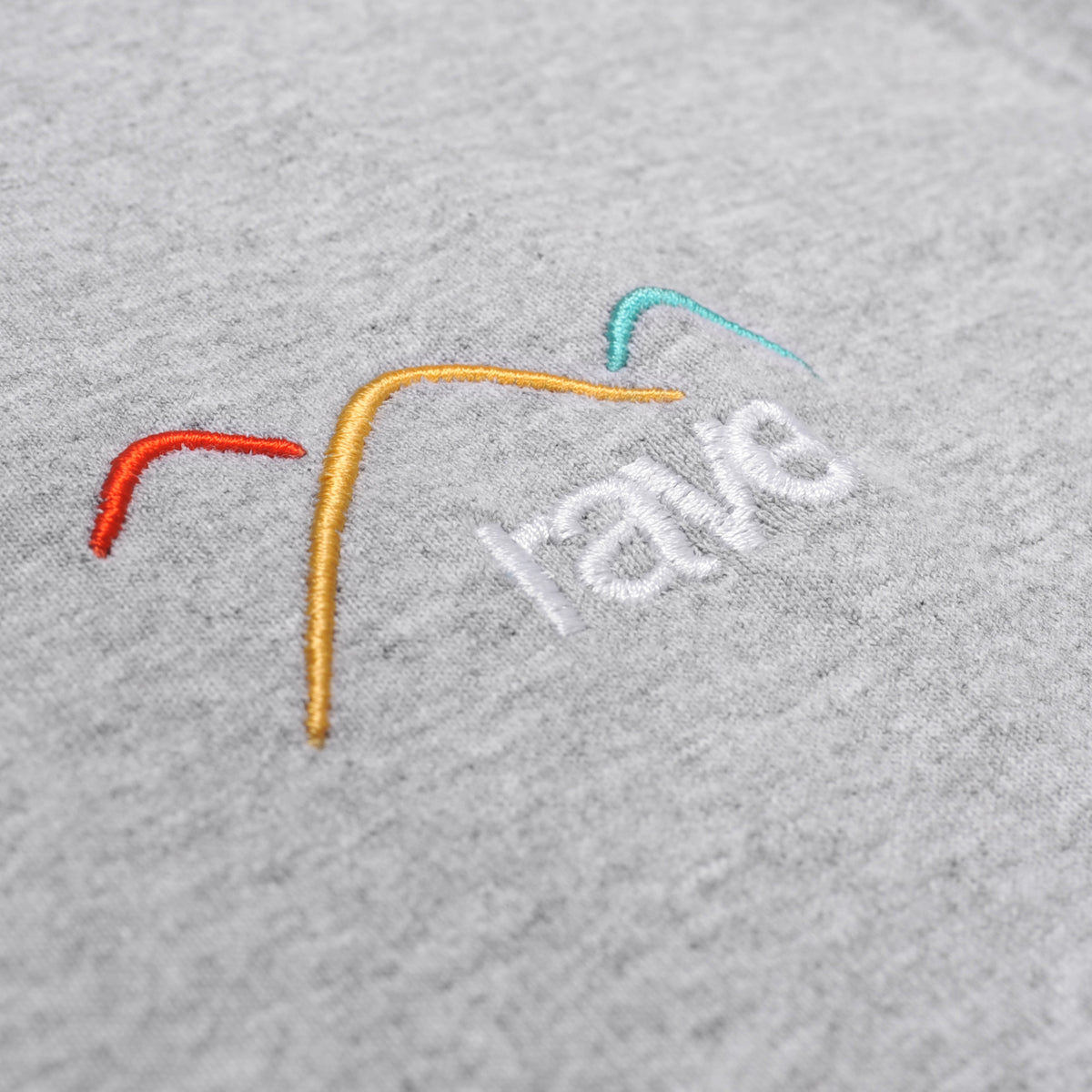 SUMMIT grey tee - RAVE skateboards