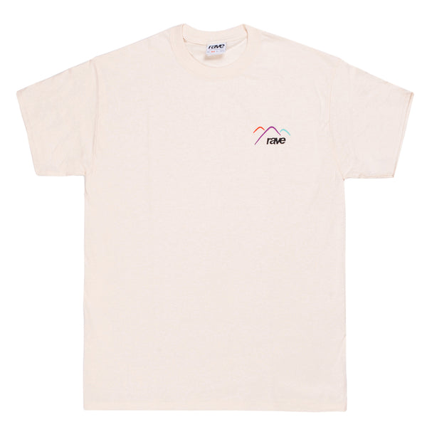 SUMMIT off-white tee - RAVE skateboards
