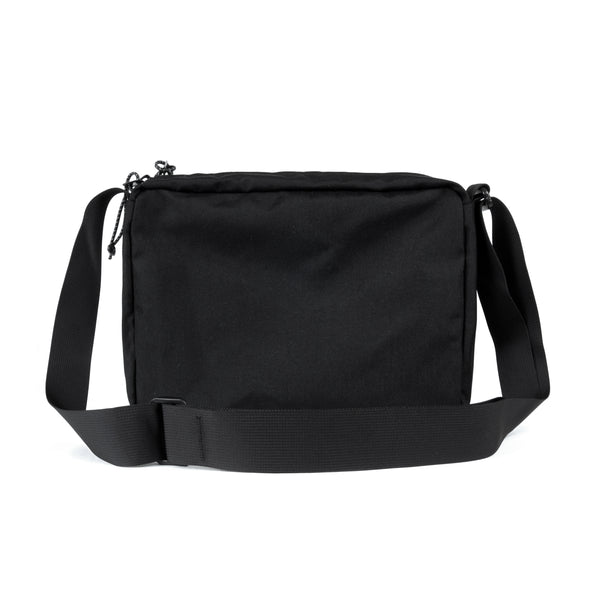 SHOULDER BAG black - rave skateboards