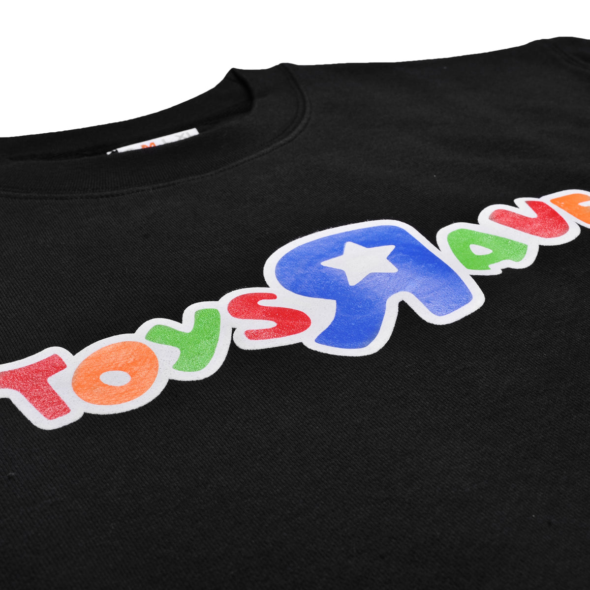 TOYS RAVE black crewneck - RAVE skateboards