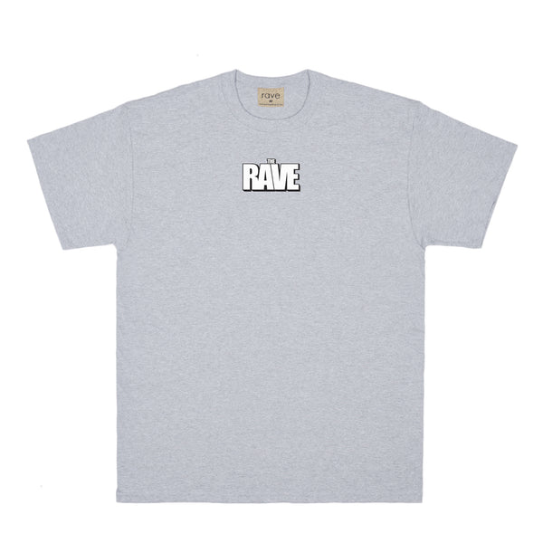 THE RAVE grey tee