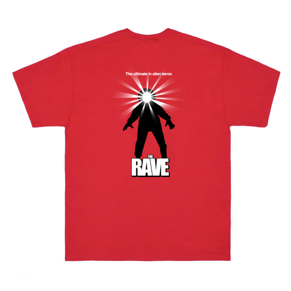 THE RAVE red tee