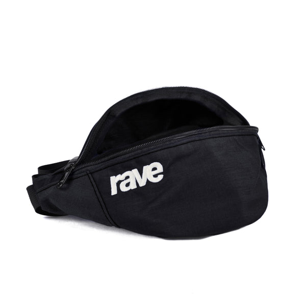 WAIST-PACK black - rave skateboards