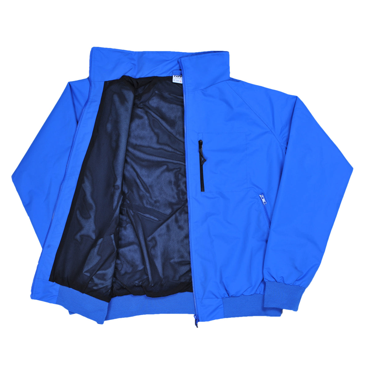 RAVE WATERPROOF royal blue jacket - RAVE skateboards