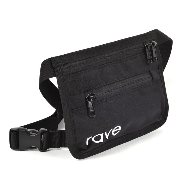 SLIM FANNY PACK black