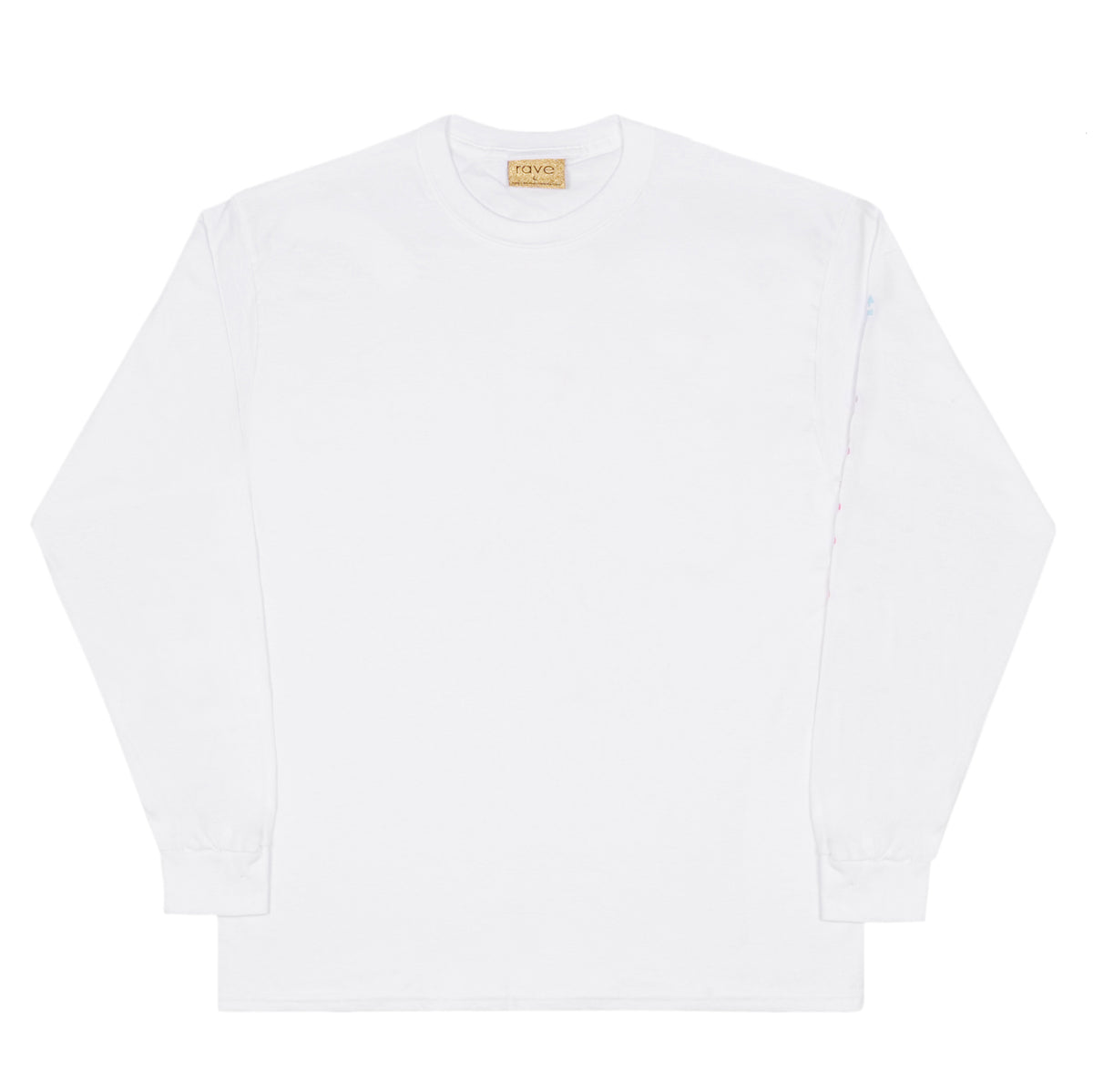 BORA BORA white long sleeves tee - RAVE skateboards