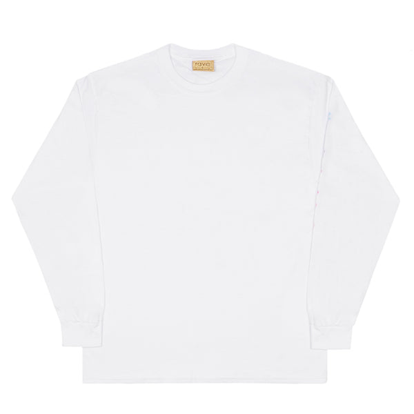 BORA BORA white long sleeves tee