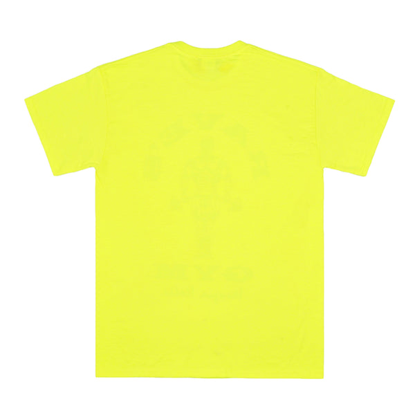 RAVE'S GYM safety yellow tee