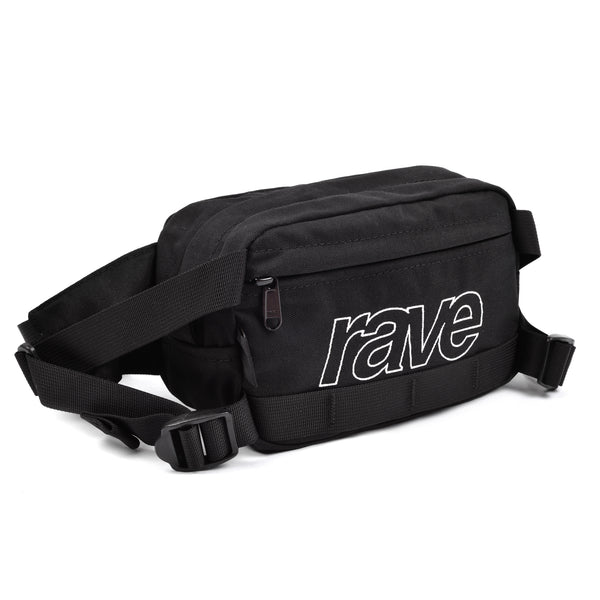 HIP-PACK black - RAVE skateboards