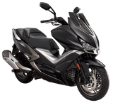 KYMCO S 400 I XCITING    Farve : MATT BLACK and MATT DEEP BLUE.