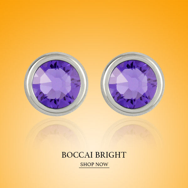 Boccai Bright Collection Sterling Silver Earrings