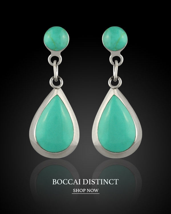 Boccai Distinct Collection Sterling Silver Earrings