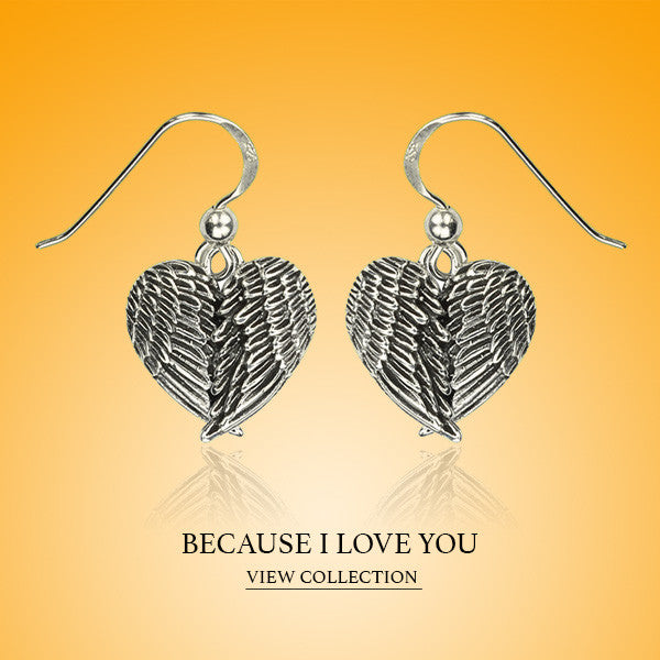 Boccai Collection Because I Love You Sterling Silver Earrings