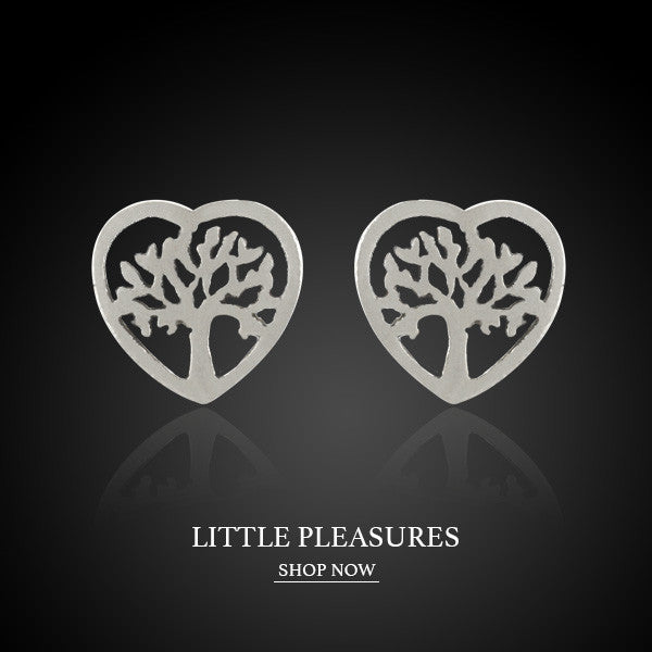 Boccai Little Pleasures Collection Sterling Silver Earrings