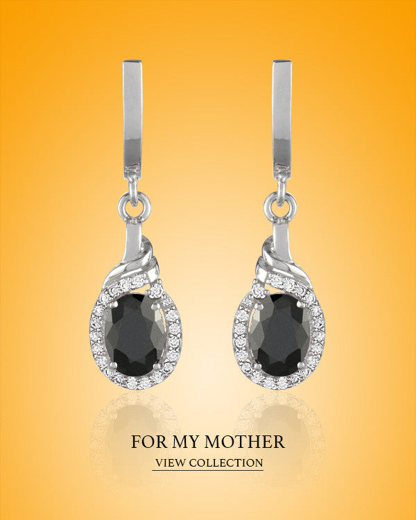 Boccai Red Carpet Collection For My Mother Sterling Silver Earrings