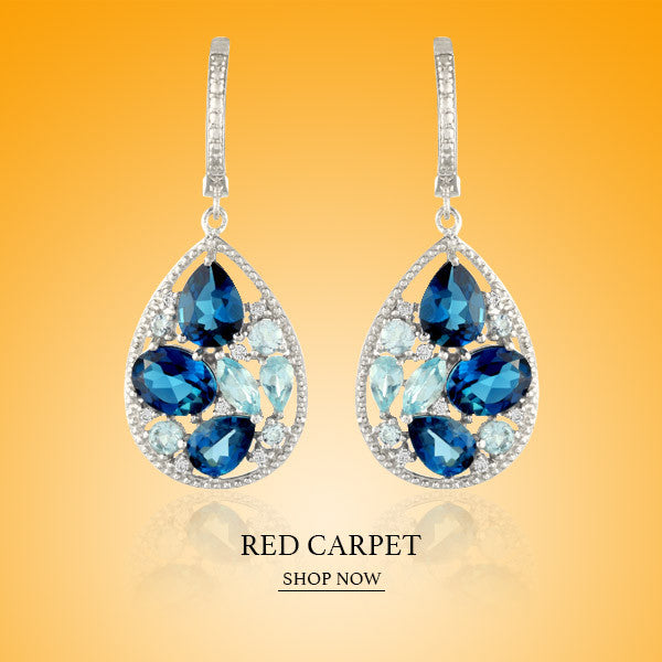 Boccai Red Carpet Collection Sterling Silver Earrings