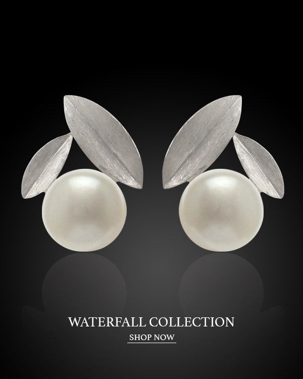 Boccai Waterfall Collection Sterling Silver Earrings