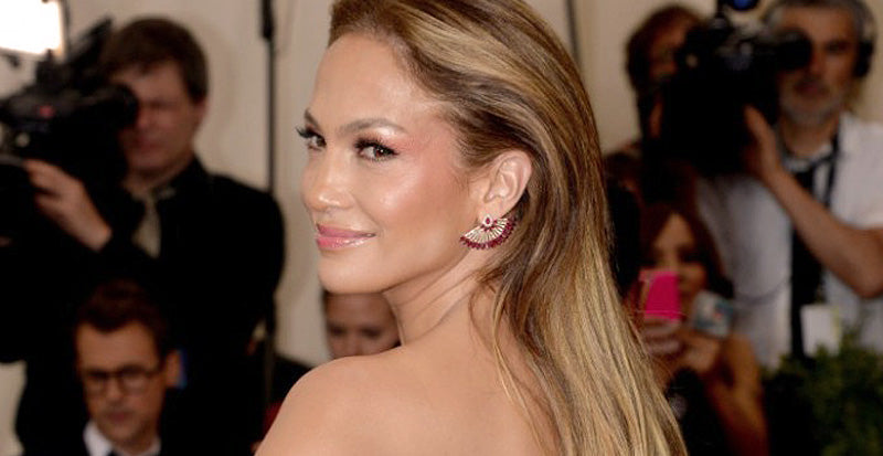 Jennifer Lopez Red Earring Jackets Fashion