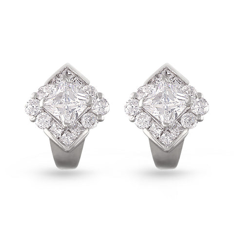 Classic Cubic Zirconia Earrings