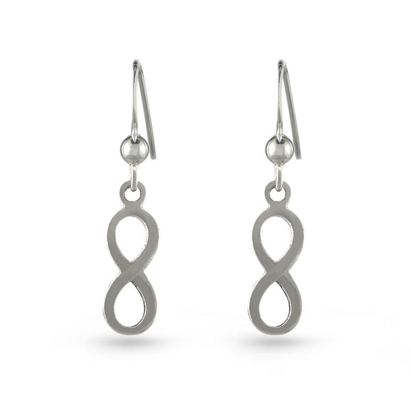 Infinity Two Drop Earrings
