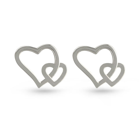 Celtic Triangle Stud Earrings