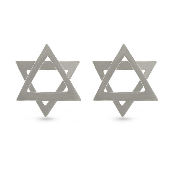 Star Of David Stud Earrings Jewish