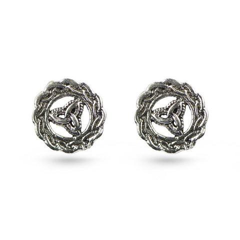 Celtic Symbol Stud Earrings