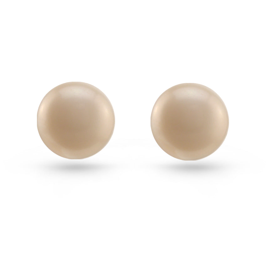 claire white earrings pearl stud s us