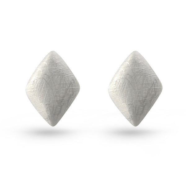 Diamond Shaped Stud Earrings