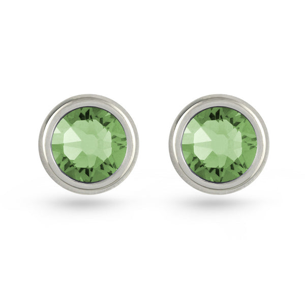 Erinite Swarovski Crystal Stud Earrings