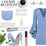 Polyvore Sets Handmade Turquoise Stone Line Curve Silver Jacket Earrings