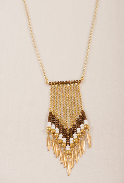 Golden bohemian chain