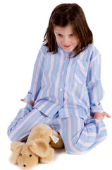 fine cotton girls pyjamas